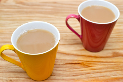 Share a cup of tea with a friendly volunteer